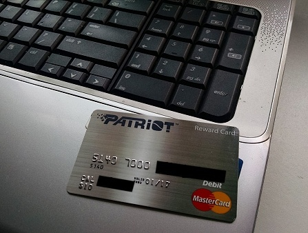Rewards Debit Card