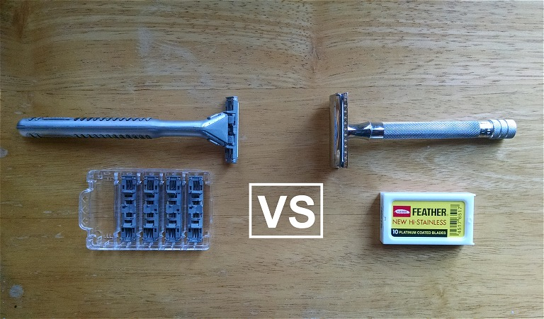 Cartridge Razor vs Double Edge Razor
