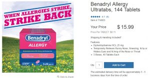 Costco Benadryl Price