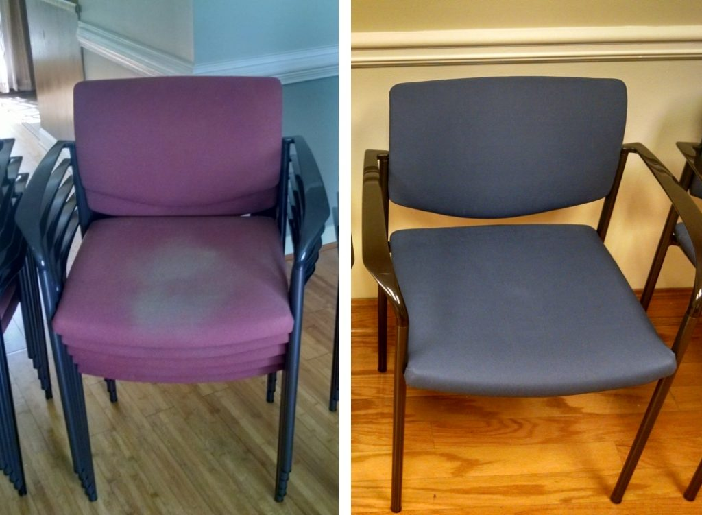 Guest Chairs Before and After