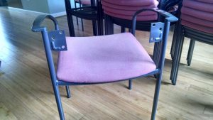 Steelcase Chairs Seatback Removed