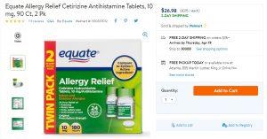 Walmart Cetirizine