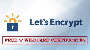 Free Wildcard Certificates