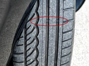Tire Tread Wear Bars