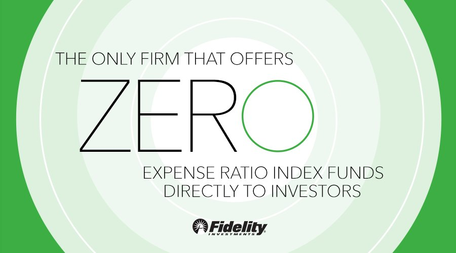 Fidelity Zero Cost Mutual Funds