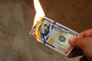 Not Budgeting Is Like Burning Money