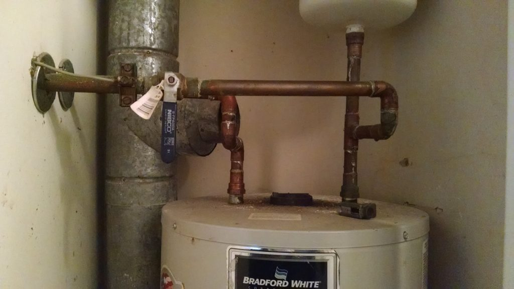 Water Heater With Copper Supply Lines