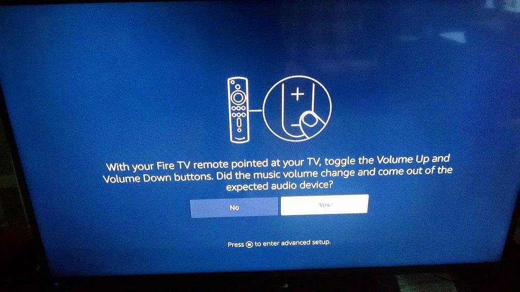 Fire TV Remote Sync