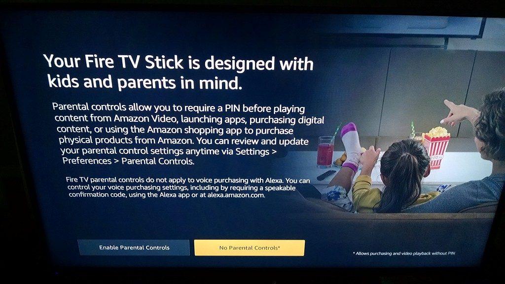Fire TV Stick Parental Control