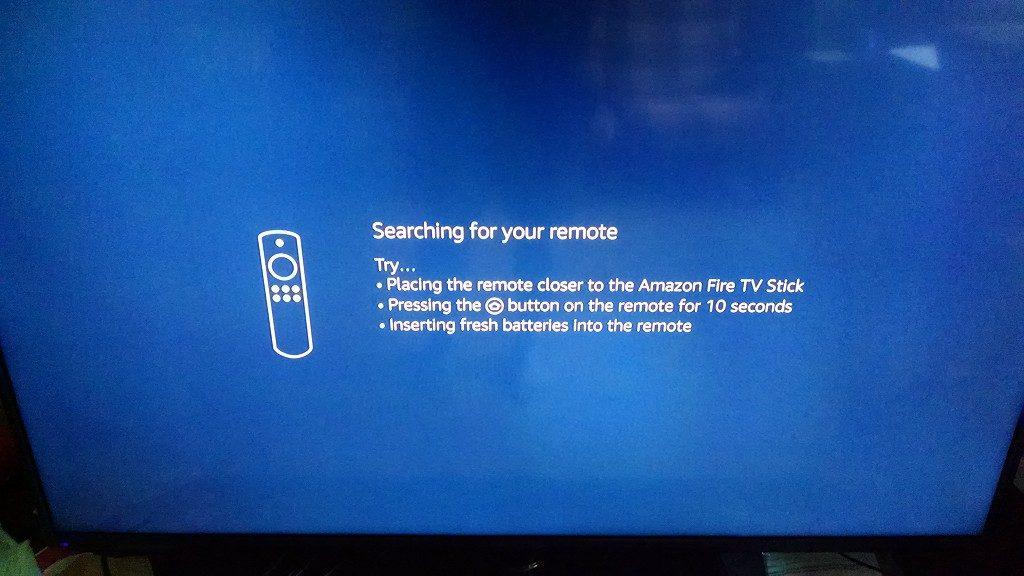 Fire TV Stick Remote Search