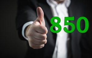 Get A Perfect 850 Credit Score