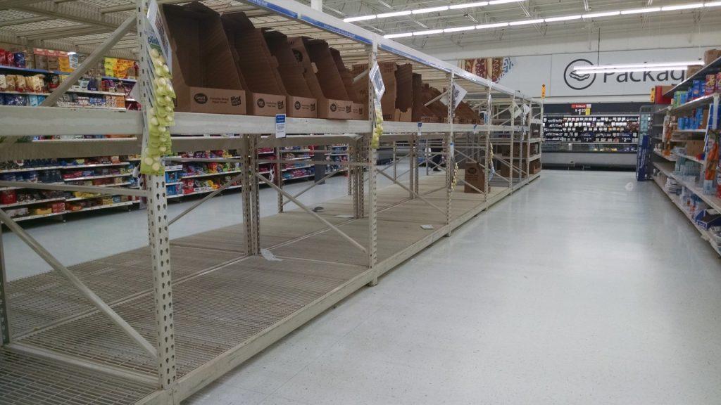 Walmart Toilet Paper Aisle