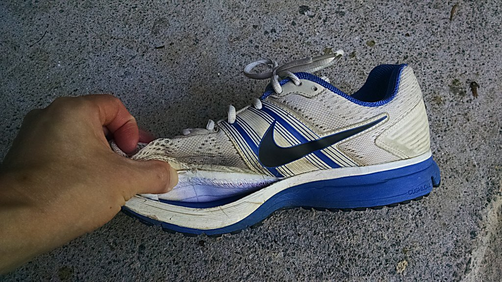 Nike Shoe Detached Midsole
