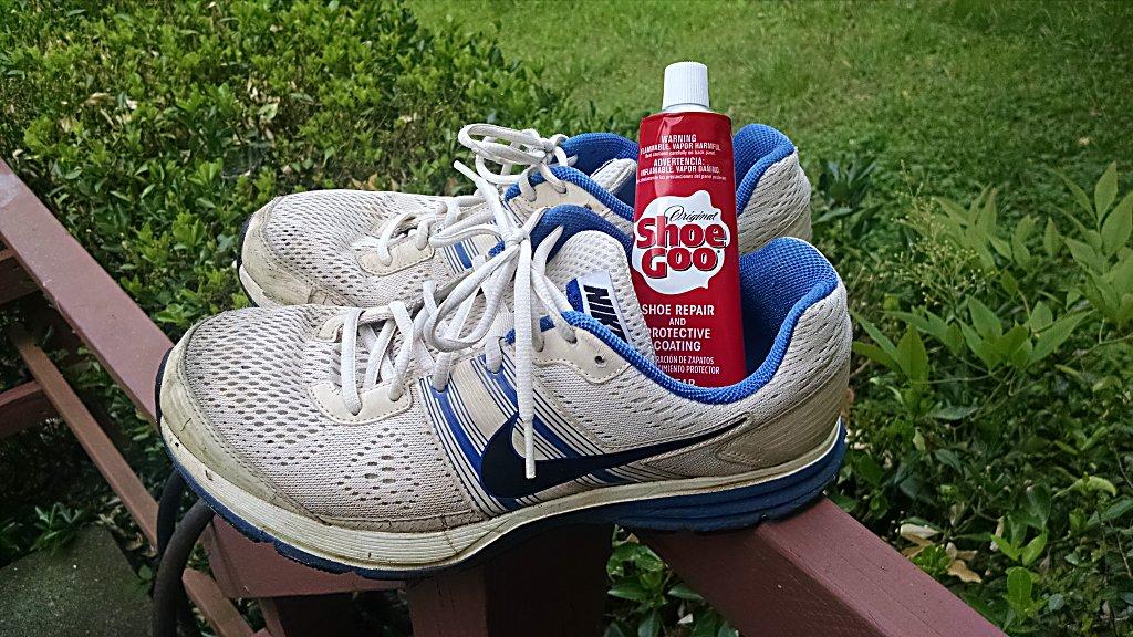 Nike Pegasus Shoe Goo Repair
