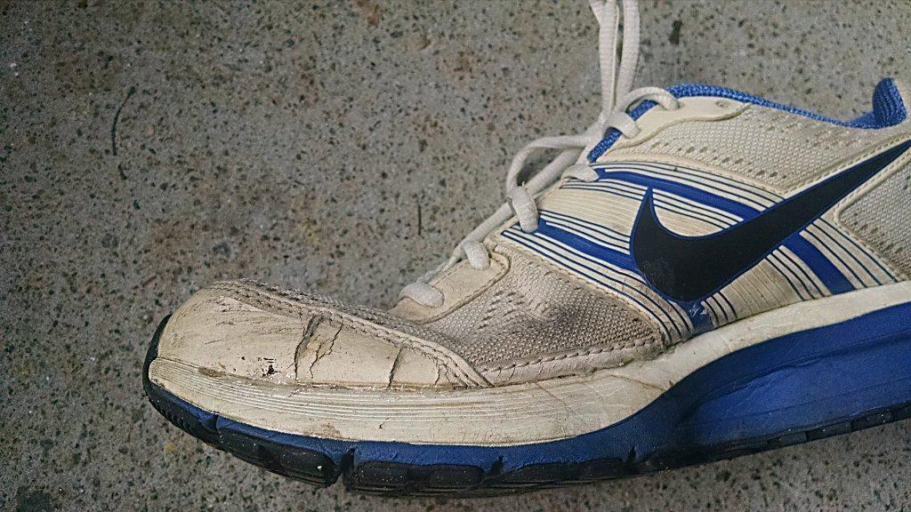 Shoe Goo Repair Results
