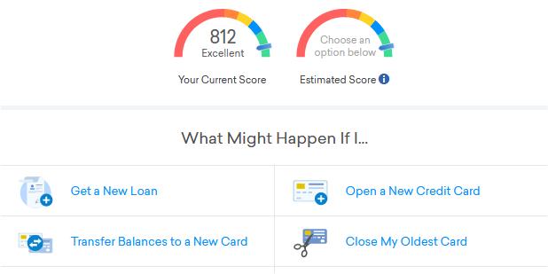 Credit Karma Credit Score Simulator