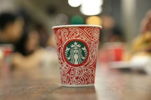 Starbucks Holiday Coffee Cup