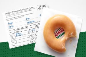 Krispy Kreme Vaccine Offer