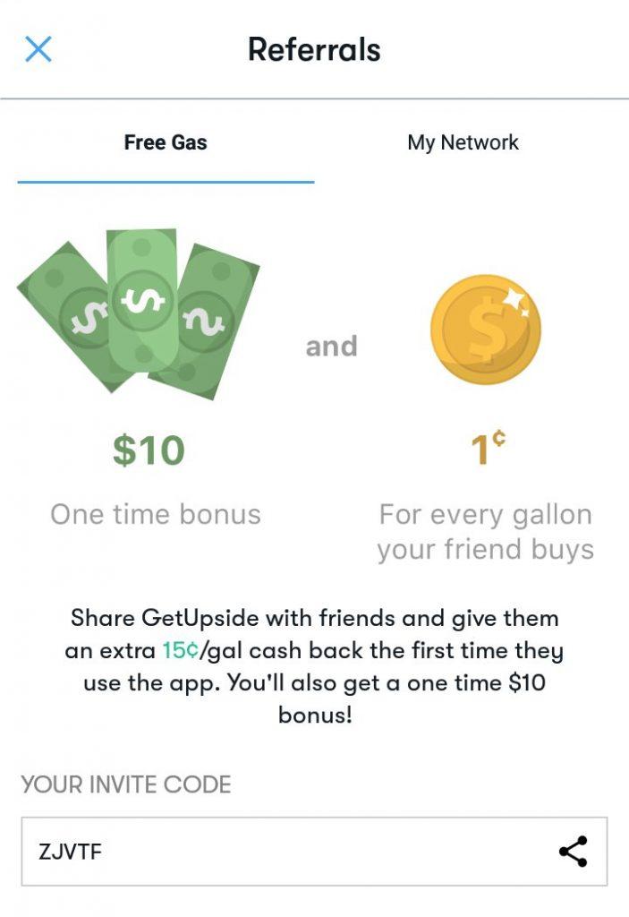 GetUpside $10 Bonus