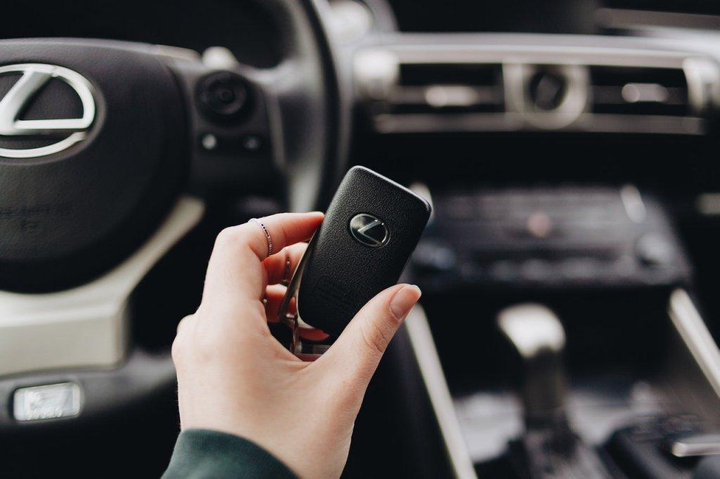 New Lexus Car Key
