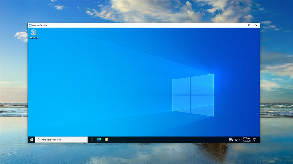 Windows Sandbox Desktop